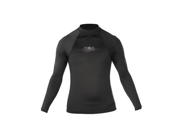 Aqua Lung Sport Mens Large Long Sleeve Lycra Rashguard For Watersports