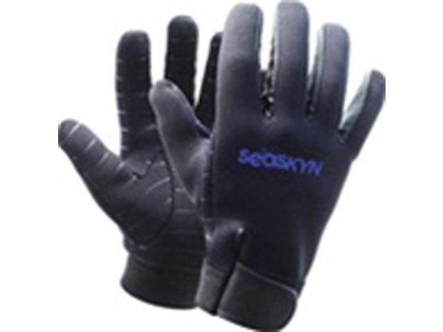 1mm SEASOFT SEASKYN_ Rubberized Gloves - Large
