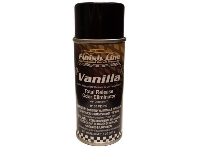 Finish Line Total Release Odor Eliminator with Ordenone - Vanilla Scent