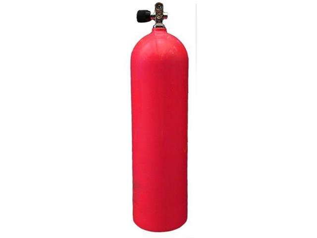 80cf Aluminum Scuba Tank - Electric Red