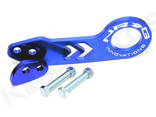 TOW HOOK NRG INNOVATIONS REAR BLUE UNIVERSAL FITMENT HONDA ACURA CIVIC INTEGRA EG EK DC2 JDM USDM