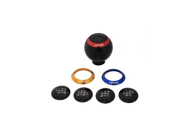 NRG 5/6 SPEED Black SHIFT KNOB