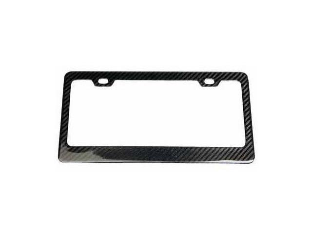 Carbon Fiber License Plate Frame Standard US Size  NRG Innovations 1PC.