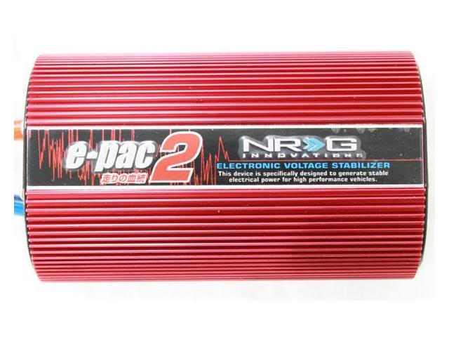 NRG Innovations Epac-200 Voltage Stabilizer Red