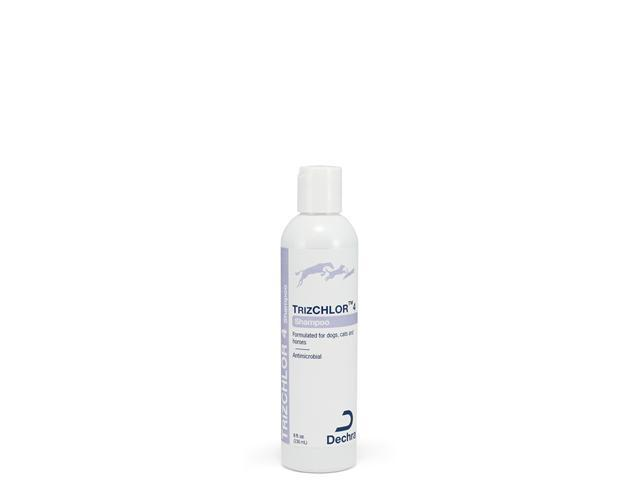 DermaPet TrizCHLOR 4 Shampoo 8 ounce