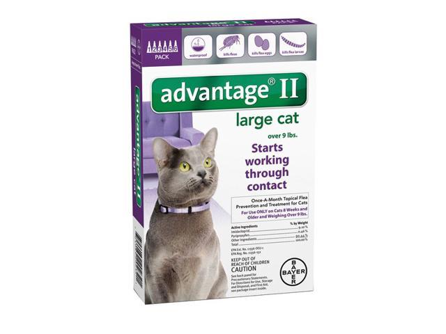 Advantage II for Cats Over 9 lbs 6pk