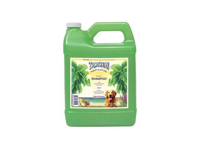 TropiClean Puppy & Kitten Shampoo Gallon