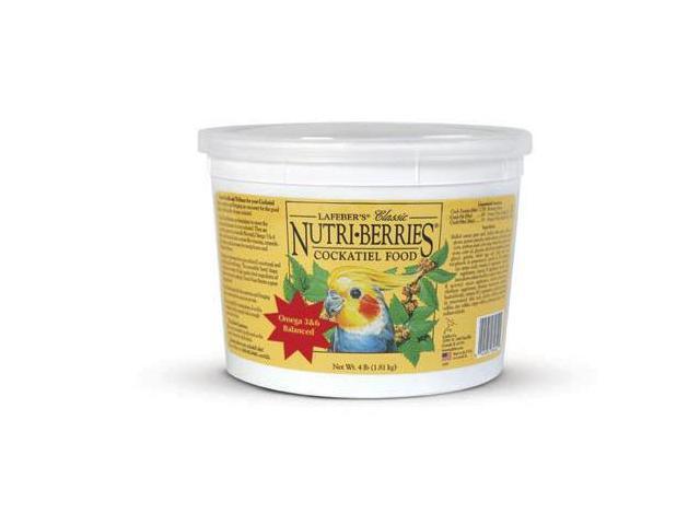 Lafeber Company Classic Nutri-Berries, Cockatiel, 4 Pound - 81642
