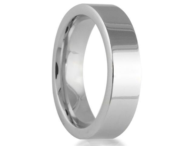 Cobalt 6mm Comfort Fit Men's Wedding Band Featuring a High Polish Finish