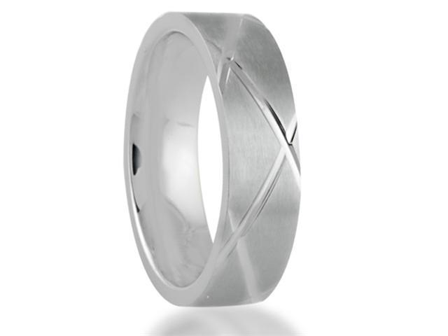 7MM Titanium Helix Ring Wedding Band Comfort Fit
