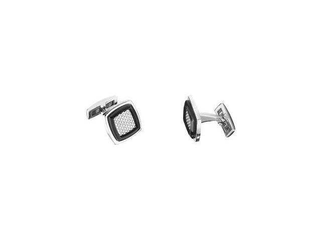 Stainless Steel Square Cuff Links