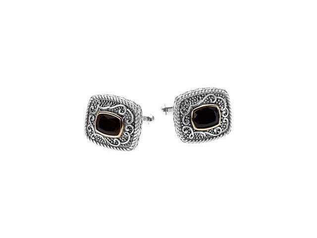 Genuine Onyx Cuff Links