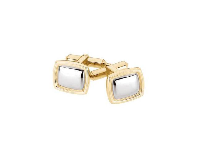 Two Tone Cuff Link