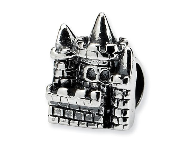 Sterling Silver SimStars Reflections Kids Castle Bead