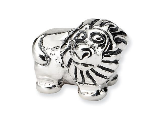 Sterling Silver SimStars Reflections Kids Lion Bead