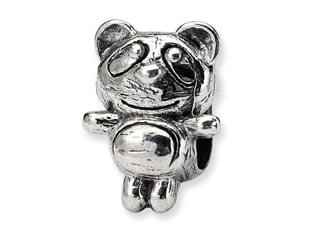 Sterling Silver SimStars Reflections Kids Baby Panda Bead