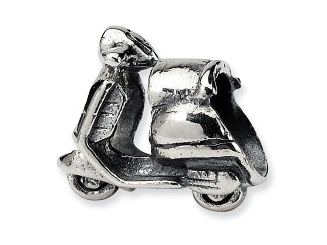 Sterling Silver SimStars Reflections Scooter Bead