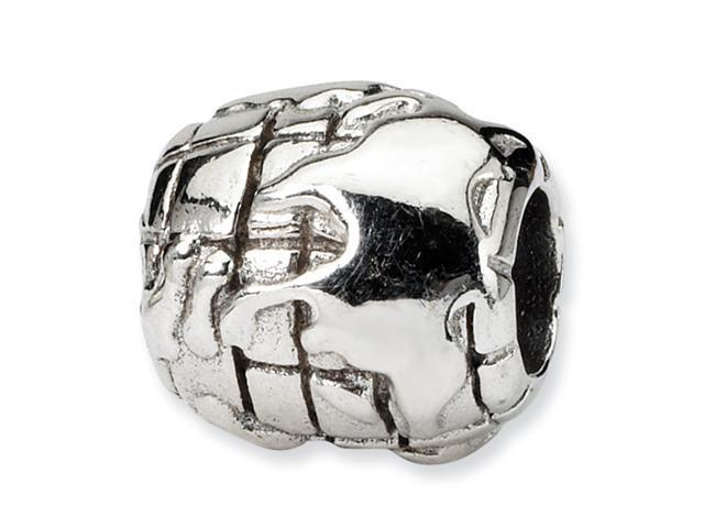 Sterling Silver SimStars Reflections World Bead