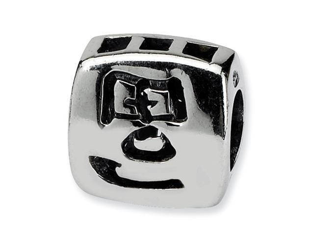 Sterling Silver SimStars Reflections Chinese Wealth Bead