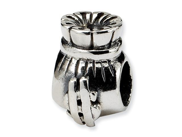 Sterling Silver SimStars Reflections Money Bag Bead