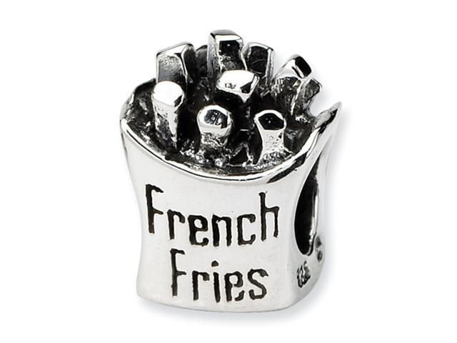Sterling Silver SimStars Reflections French Fries Bead