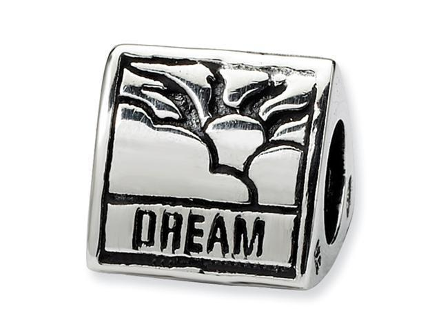 Sterling Silver SimStars Reflections Inspiration Trilogy Bead
