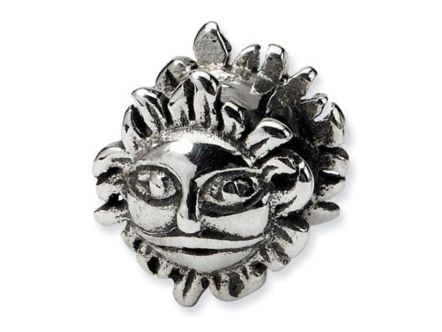 Sterling Silver SimStars Reflections Sun Bead