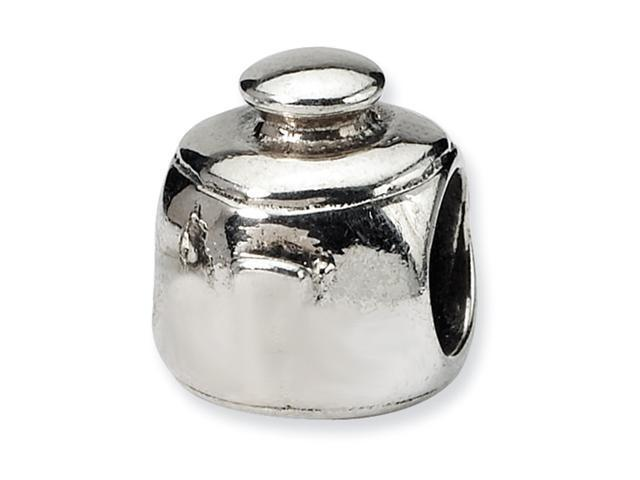 Sterling Silver SimStars Reflections Cooking Pot Bead