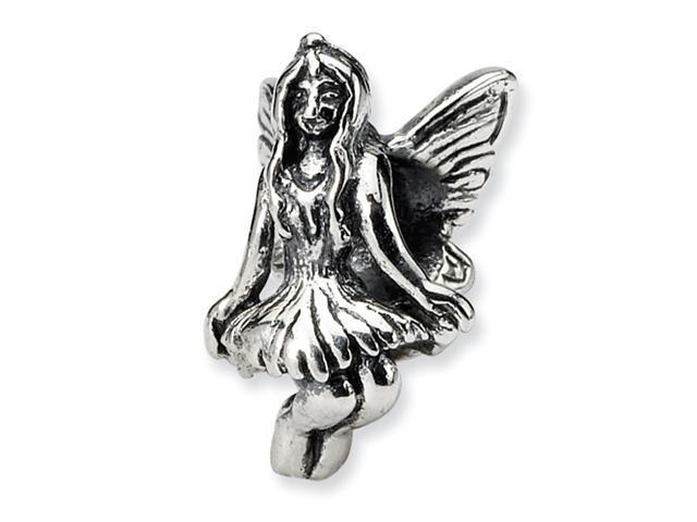 Sterling Silver SimStars Reflections Fairy Bead