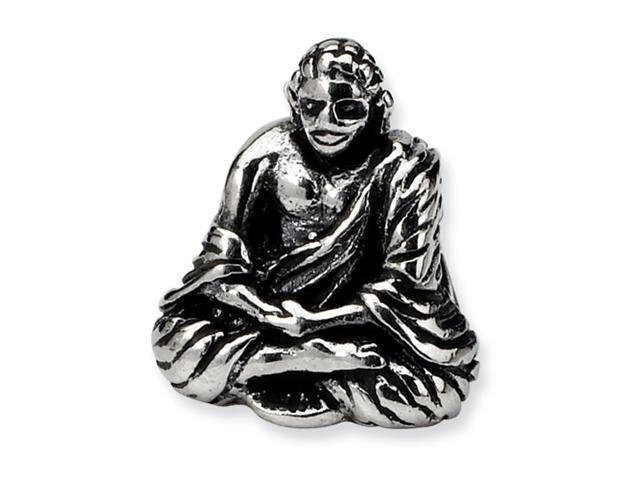 Sterling Silver SimStars Reflections Buddha Bead