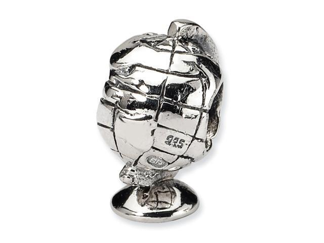 Sterling Silver SimStars Reflections Globe Bead