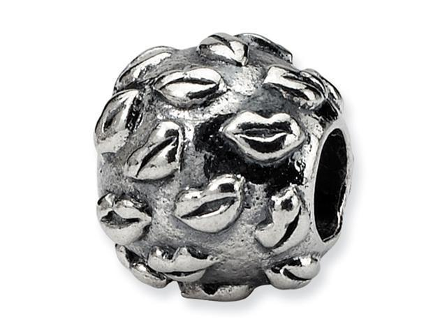 Sterling Silver SimStars Reflections Kids Lips Bead