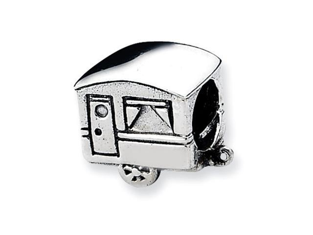 Sterling Silver Refelections Camper Trailer Bead