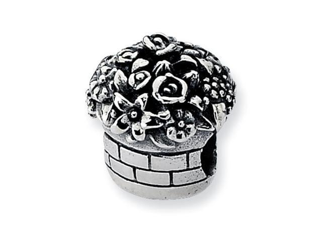 Sterling Silver Refelections Flower Bouquet Bead