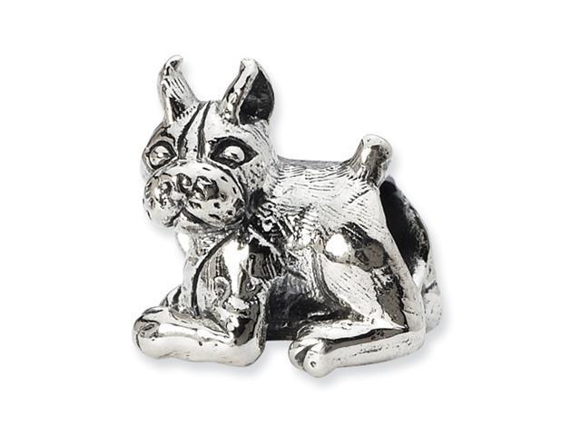 Sterling Silver SimStars Reflections Boxer Bead