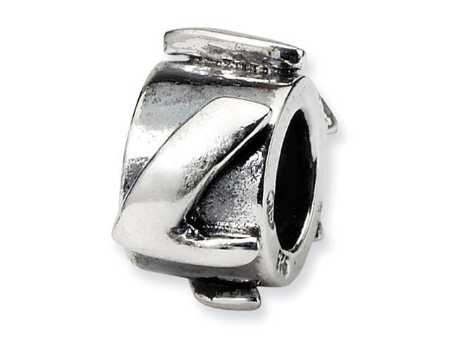 Sterling Silver SimStars Reflections Letter L MeSterling Silverage Bead