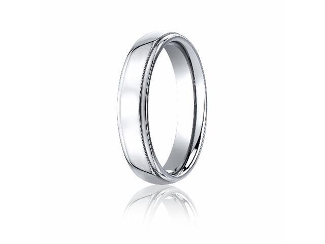 Cobaltchrome™ 5mm Comfort-Fit High Polished Design Ring