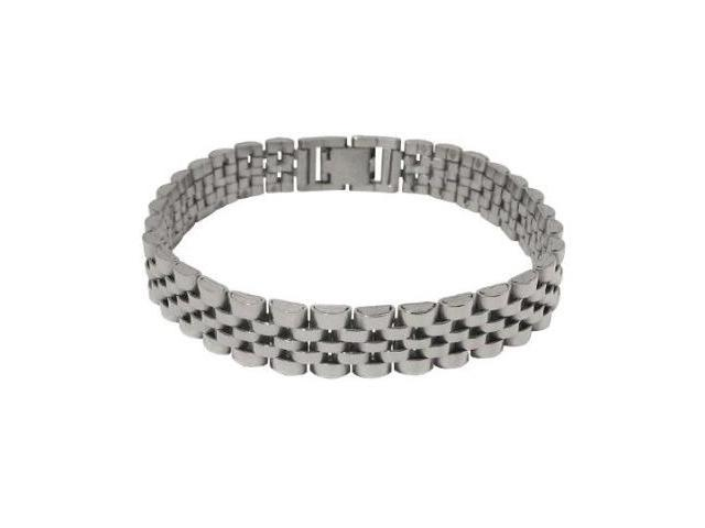 Stainless Steel Classic Two Tone Bracelet