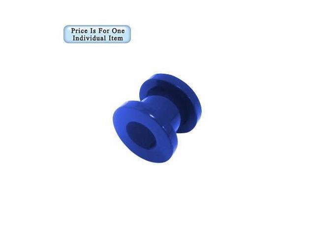 00 Gauge Blue Acrylic Ear Plug