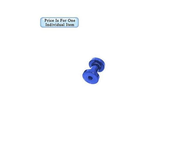 8 Gauge Blue Acrylic Ear Plug
