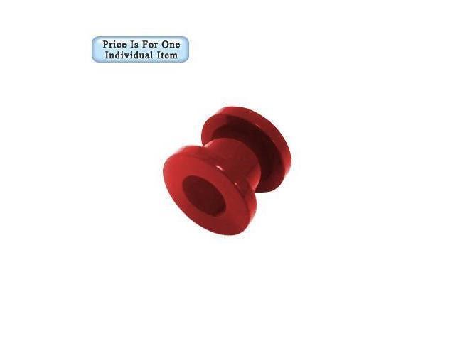 00 Gauge Red Acrylic Ear Plug