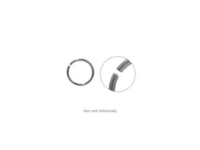 18 Gauge Surgical Steel Nose Hoop Ring