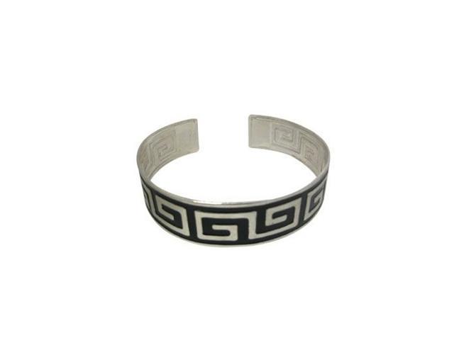 Tattoo-like Armband with Unique Greek Key Design