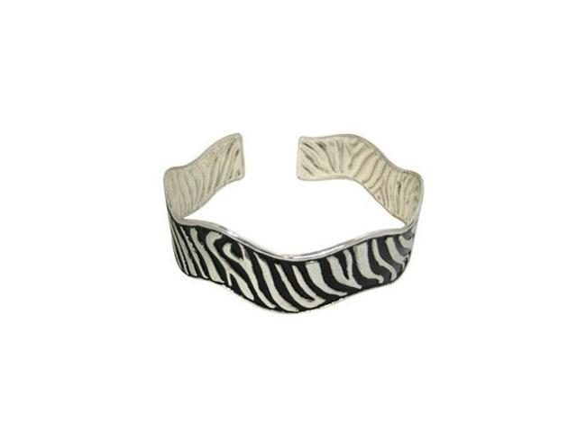Armband with Zebra Stripe Design