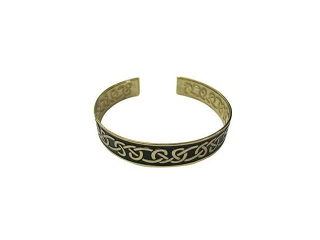 Antique Design Black & Gold Armband
