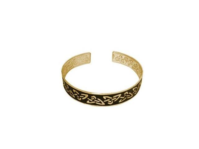 Antique Design Black & Gold Color Armband