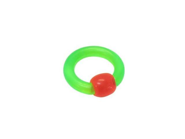 UV Acrylic Captive Bead Ring (6 Gauge)
