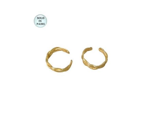 14k Gold Plated Ear Cuffs Unique Design