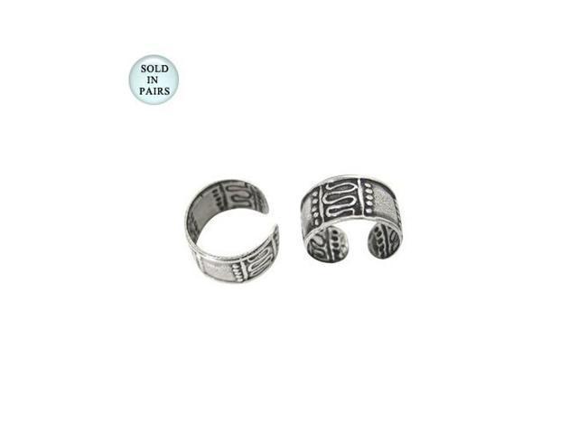 Antique Sterling Silver Ear Cuffs