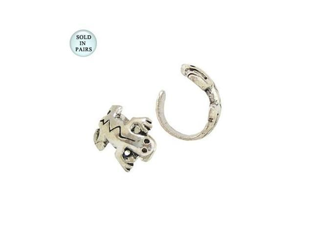 Lizard Sterling Silver Ear Cuffs